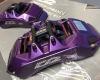 D2 6 Pot Calipers in Purple