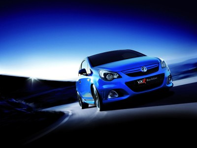 Corsa VXR Blue Limited Edition