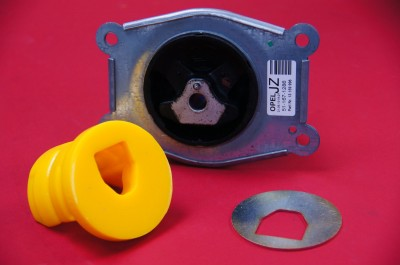 OE Factory Engine Mount and Yellow Poly Insert