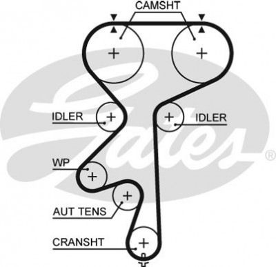 Timing Belt Diagram Z20LEx
