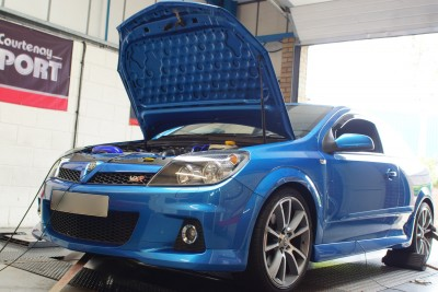 Astra H VXR Garrett Mapping Session