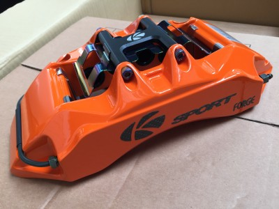 K Sport 8 pot Caliper in Orange