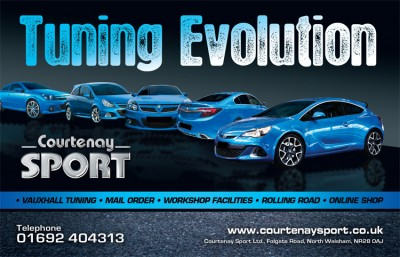 Courtenay Sport Advert