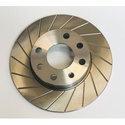 18 Groove 236mm Brembo Front Brake Discs Pair - Nova