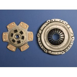 Clutch Uprated 228mm: Cover and 6 Paddle Disc - Astra G Zafira A Turbo Z20LET/F23
