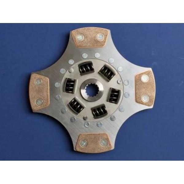 Clutch Uprated 228mm: 4 Paddle Disc - Astra G Zafira A Z20LET F23