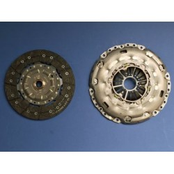 Clutch OE 240mm: Cover and Disc - Astra H VXR