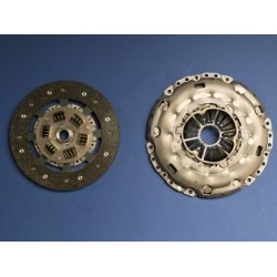 Clutch Uprated 240mm: OE Cover and Organic Sprung Disc - Corsa D VXR