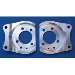 Brake Mounting Plates 292mm Rear - Astra G/H Zafira A/B