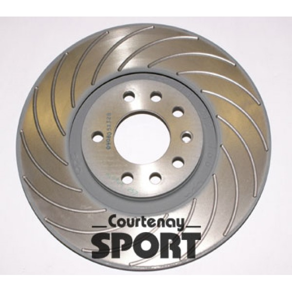 Brake Disc Set Front 16G 345mm - Vectra C VXR