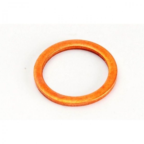 Sump Plug Washer Copper M18 Gold Plug