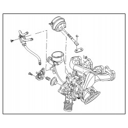 Turbocharger Assembly A14NEx B14NEx