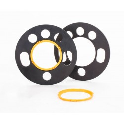 Wheel Spacers 10mm ST 2 x 5mm Vauxhall Fit