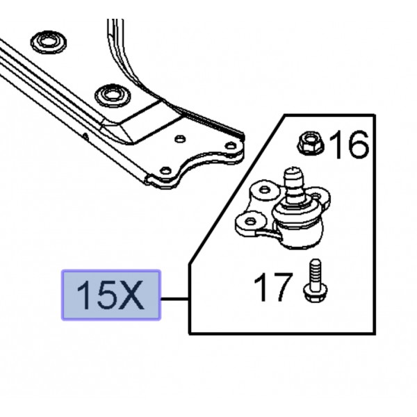 Genuine Vauxhall Opel Ball Joint