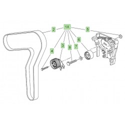 Cambelt Kit - 2.0 CDTi Diesel