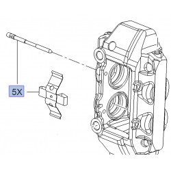 Brake Pad Retaining Kit - Brembo Caliper