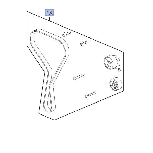 Cambelt Kit - B16LES 1.6 Turbo