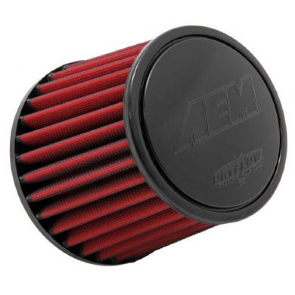 Air Filter AEM Dryflow Cone 90mm