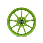 Alleggerita HLT 5F Alloy Wheel in Acid Green