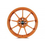Alleggerita HLT 5F Alloy Wheel in Orange