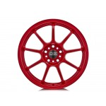 Alleggerita HLT 5F Alloy Wheel in Matt Red