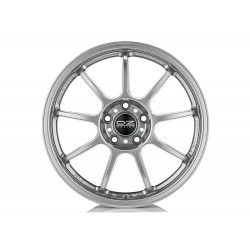 "Alleggerita HLT 5F  Alloy Wheels 18"" Set of Four - Silver/Titanium"