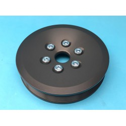 Alloy Bottom Pulley Multi V - V6 Non Turbo 2.5/2.6/3.0/3.2