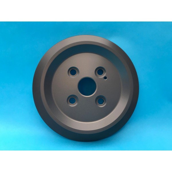 Alloy Underdrive Pulley With Flange