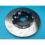 Brake Disc Set Front EBC 2 Piece Floating Bell Upgrade 355mm - Astra J VXR
