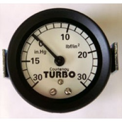 Courtenay Turbo Boost Gauge White Face 30psi
