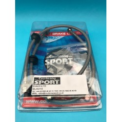Braided Brake Hoses Front - AP / Alcon / K Sport / D2