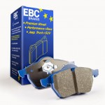 Brake Pad Set Front EBC Blue - Alcon 4 Pot Mono CAR98 4498