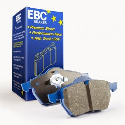 Brake Pad Set Front EBC Blue Ceramic - Alcon 4 Pot Mono CAR98 4498