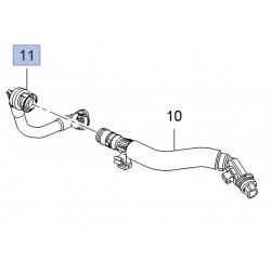 Breather Pipe/Hose Short 1.6 Turbo - Corsa E VXR / Astra J