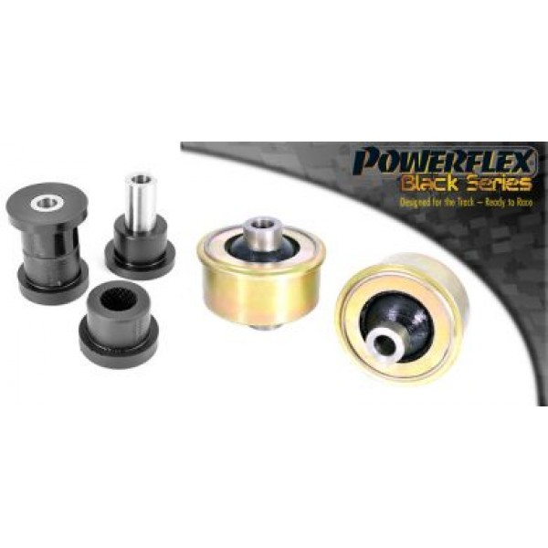 Powerflex Poly Bush Kit Front BLACK inc ARB - Corsa D / Corsa E