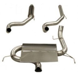 Exhaust System 76mm Cat Back Twin - Corsa D VXR 2006-2010