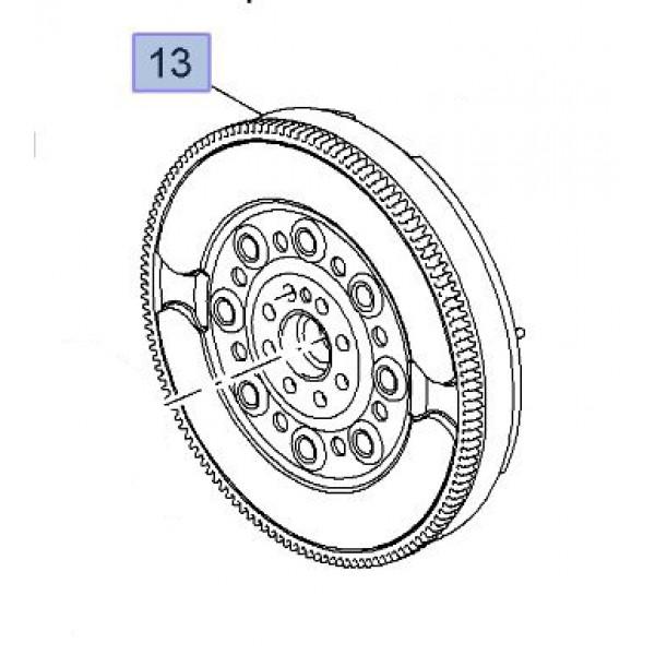 Flywheel Dual Mass Genuine - Astra J VXR