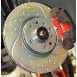 EBC GD1070 308mm Brake Disc Pair in Gold