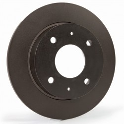 Brake Disc Set Rear Plain EBC 278mm - Astra H VXR