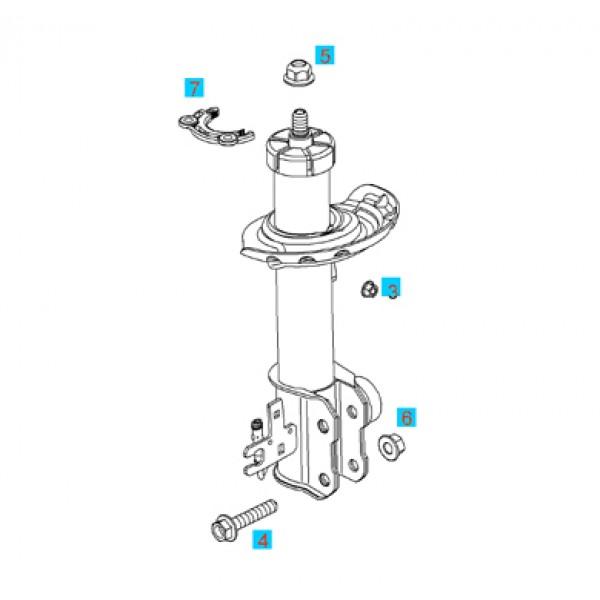 Fitting Kit Front Suspension - Astra H Zafira B