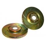 Brake Disc Set Front EBC GD Sport 302mm GOLD - Vectra C 2.0T/3.2V6/1.9CDTi/3.0CDTi