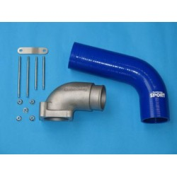 High Flow Enlarged Plenum + Hose - Astra H Zafira B 2.0 T Z20LEx