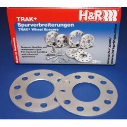 Wheel Spacers 6mm H&R 2 x 3mm Vauxhall Fit
