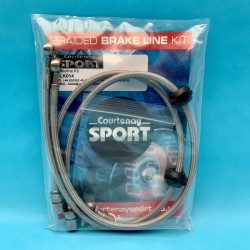 Braided Brake Line Hoses Rear - Astra J VXR