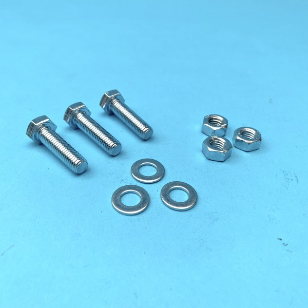 M8 x 30 Nuts / Bolts / Washers for Pre Cat Removal Pipe