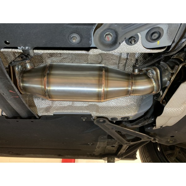 Hyundai i30N GPF Delete Silenced