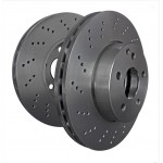 Brake Disc Set Rear EBC 314mm - Astra J VXR