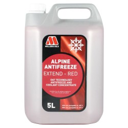 Coolant Millers Alpine Antifreeze Extend Red - 5L