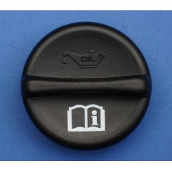 Oil Filler Cap - Black