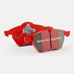 Brake Pad Set Front EBC Red - K Sport 8 / D2 6 Pot